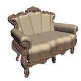 Sofá de Empir Imagens de Stock Royalty Free