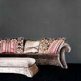 Sofá de lujo Fotos de archivo libres de regalías
