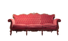 Sofá do vintage Imagens de Stock Royalty Free