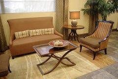 Sofá e cadeira Foto de Stock