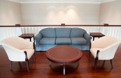 Sofá e poltrona Imagem de Stock Royalty Free