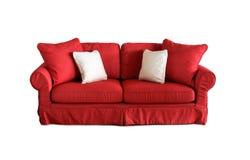Sofá interior al aire libre con las almohadas Imagen de archivo
