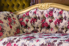 Sofá luxuoso Imagem de Stock Royalty Free