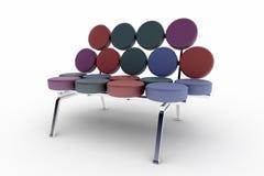 Sofá moderno Fotografia de Stock