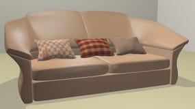 Sofá moderno Imagem de Stock Royalty Free