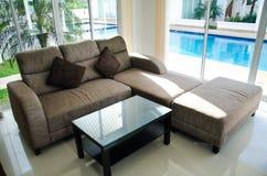 Sofá na casa Imagem de Stock Royalty Free
