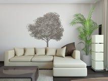 Sofá no interior Foto de Stock