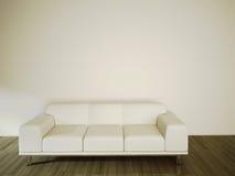 Sofá no interior confortável moderno Imagens de Stock Royalty Free