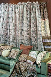 Sofá verde Imagens de Stock Royalty Free