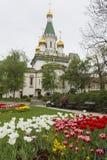 SOFÍA, BULGARIA - 14 DE ABRIL DE 2016: Hermosa vista de Rus colorido Foto de archivo