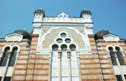 Sofía Sinagoga-Bulgaria, Balcanes Foto de archivo
