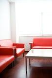 Sofá en sala de espera Imagen de archivo libre de regalías