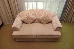 Sofa. A sofa in a hotel room Royalty Free Stock Photos