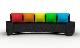 The sofa Royalty Free Stock Photo