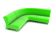 Sofa 3D Royalty Free Stock Photos