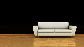 Sofa in 3D Stock Photography