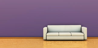 Sofa in 3D Stock Photo