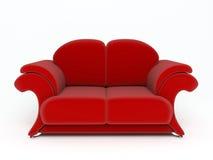 sofa 3d Royaltyfria Foton