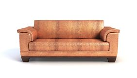 Sofa 3D rendering Royalty Free Stock Photos