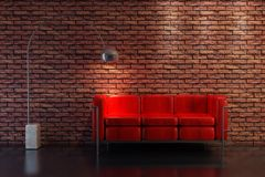 Sofa 3D rendering Stock Images