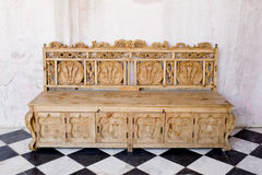 Sofa antique Photo libre de droits