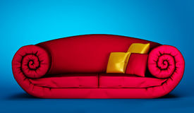 Sofa arabe Photographie stock