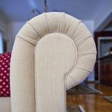 Sofa arm closeup Royalty Free Stock Images