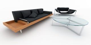 Sofa Armchair Royalty Free Stock Image