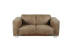 Sofa auf weißem Hintergrund Lizenzfreies Stockfoto
