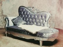 Sofa baroque de luxe photos libres de droits