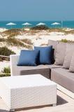 Sofa on the beach Stock Image