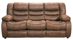 Sofa bed modern furniture Stock Image