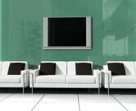 Sofa blanc illustration stock
