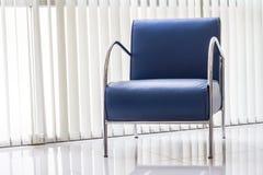Sofa bleu Image libre de droits