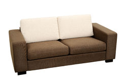 sofa brun Images stock