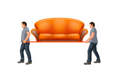 Sofa7 carrying Stock Images