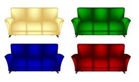 Sofa Chair Lizenzfreies Stockbild