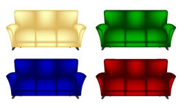 Sofa Chair Royalty Free Stock Image