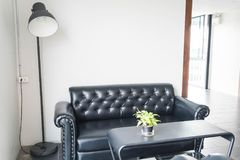 Sofa and chair interior decoration. In living room Stock Photography