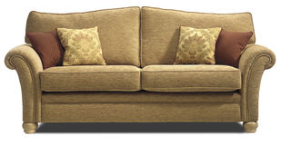 Sofa Chair Settee Stock Images