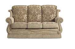 Sofa Chair Settee Royalty Free Stock Photography