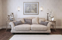 Sofa classic style Royalty Free Stock Photos