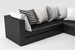 Sofa close-up Stock Images