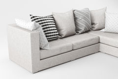 Sofa close-up stock image