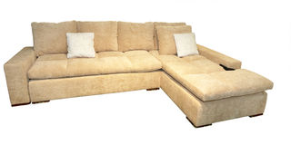 Sofa confortable Photos stock