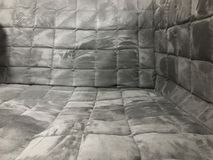 Sofa cover. Texture of sofa cover, square Royalty Free Stock Image