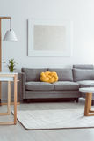 Sofa in cozy living room Stock Photography
