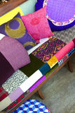 Sofa and cushions Royalty Free Stock Image