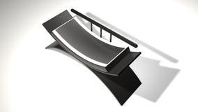Sofa 3D Lizenzfreies Stockbild