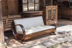 Sofa d'art déco Photo stock
